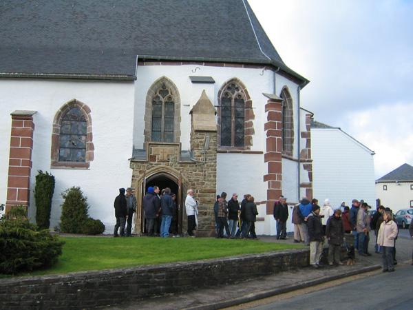 Kirche von Thommen: eine der ältesten in der Region (Archivbild: BRF/GA)