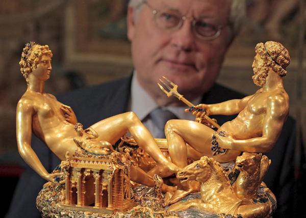 Gold Silber Elfenbein Wiener Kunstkammer 246 Ffnet Wieder