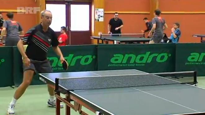 Tischtennis: Gerd Kriescher überraschend Ostbelgienmeister