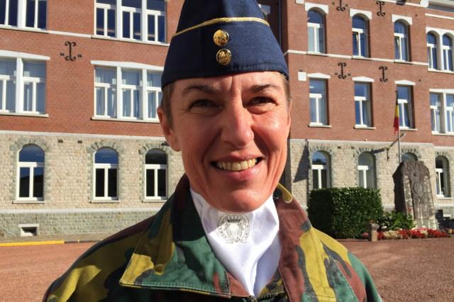 Nathalie Beerden ist die neue Neue Kommandantin in der IRMEP