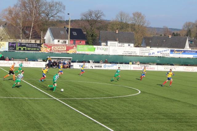 RFC Union Kelmis mit knapper 0:1-Niederlage gegen Sprimont