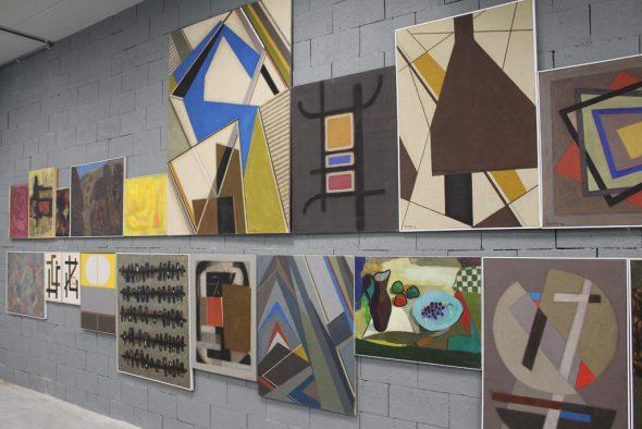 Roger-Greisch-Ausstellung im Ikob Eupen