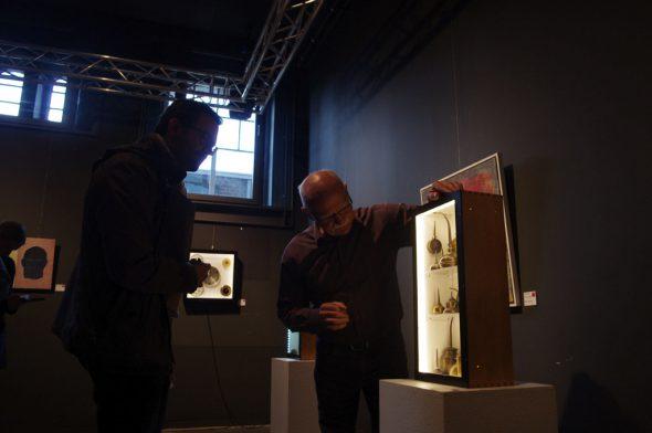 Ausstellung des Kunstforums Ostbelgien im Alten Schlachthof: Pre
