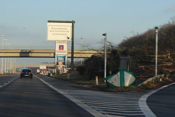 Neue ANPR-Kameras am Grenzübergang Lichtenbusch