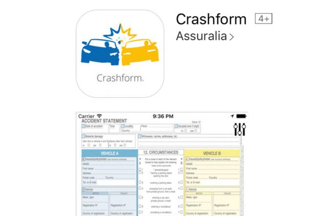 App statt Papier: Unfallprotokoll auf dem Smartphone