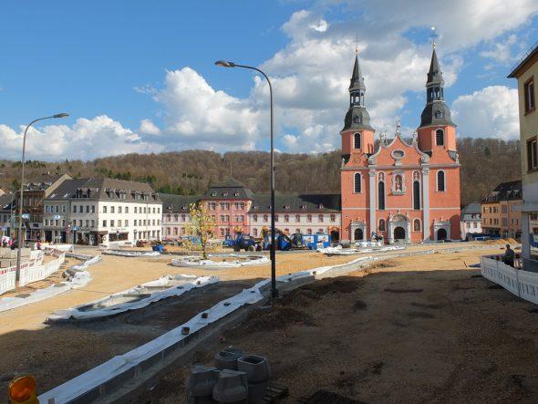 Der Hahnplatz in Prüm