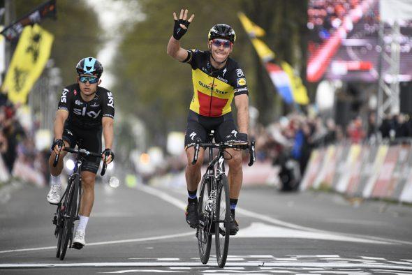 Philippe Gilbert gewinnt zum vierten Mal den Radklassiker Amstel Gold Race