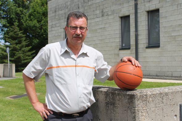Jean-Marie Leisten, Präsident des Eupener Basketballvereins (BBC Eupen)
