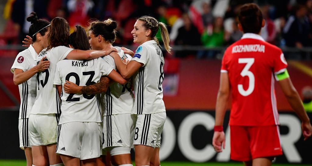 Frauenfußball Deutschland Dänemark