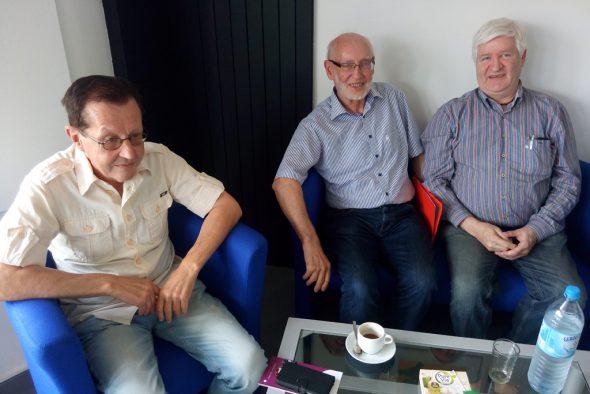 ArsVitha: Joseph Schroeder, Leonhard Schiffers und Helmut Hilgers (v.l.n.r.)