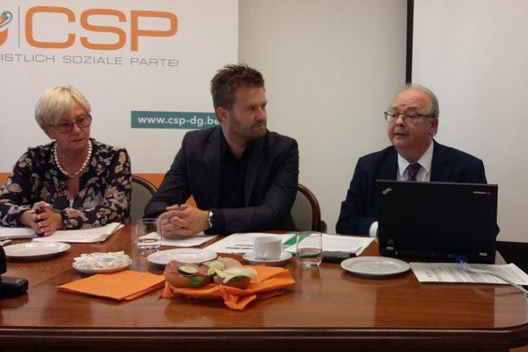 Pressekonferenz der CSP (13.9.)