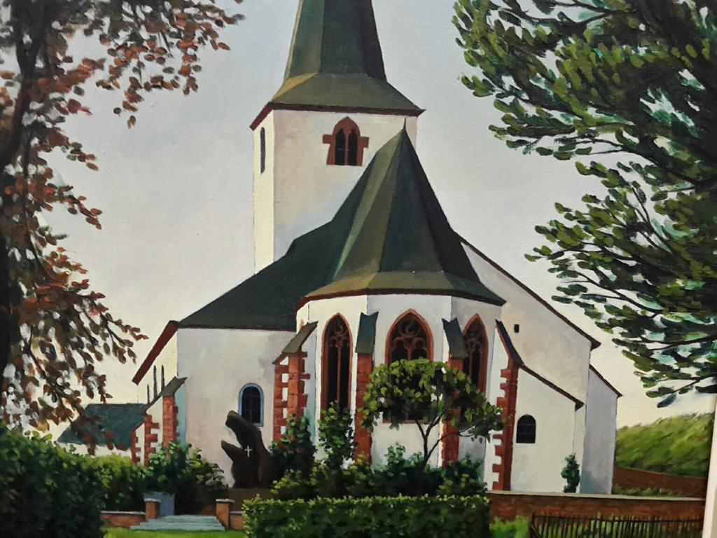Auswahl der von Günther Schaus gesammelten Werke im St. Vither Triangel