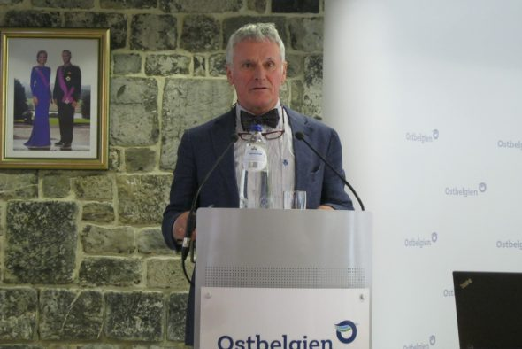 Ulrich Deller, Präsident des ÖSHZ Raeren