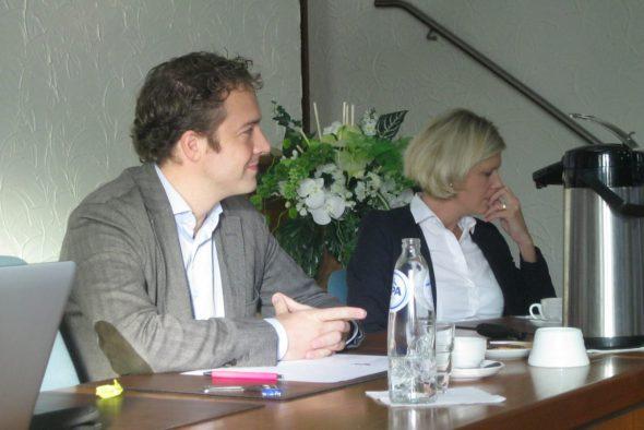 Pierre Castelain und Nathalie Klinkenberg