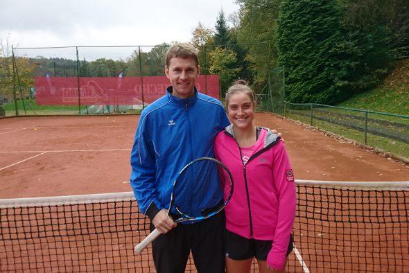 Olivier Zimmermann und Marie Benoit (Bild: Christophe Ramjoie/BRF)