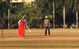 Königliches Cricket-Training in Indien (Bild: Simonne Doepgen/BRF)