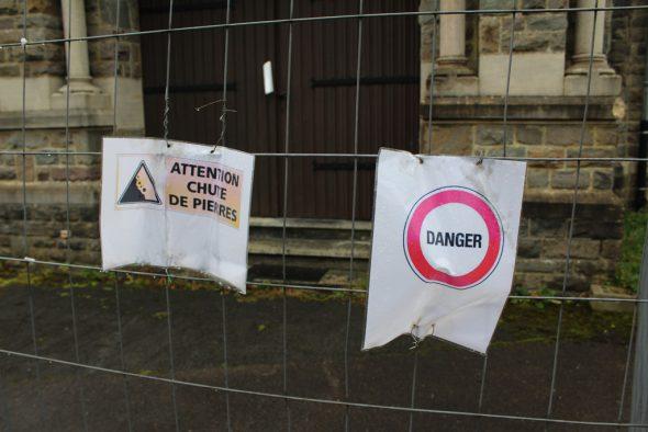 Kapelle im Lager Elsenborn aus Sicherheitsgründen geschlossen (Bild: Michaela Brück/BRF)