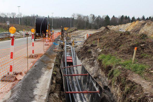 Alegro-Stromverbindung zwischen Belgien und Deutschland