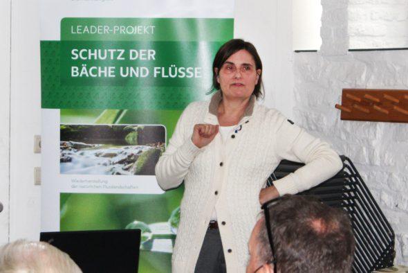 """Ingrid Rosenstein begleitet das Leader-Projekt """"Schutz der Bäche und Flüsse"""""""