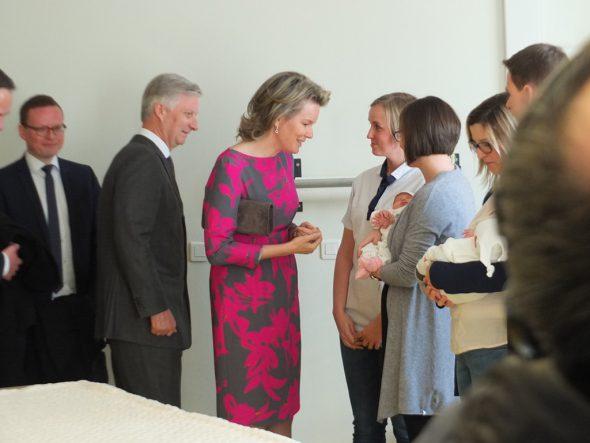 König Philippe und Königin Mathilde besuchen St. Vith (Bild: Stephan Pesch/BRF)