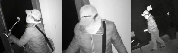 Einbruch ins Jünglingshaus: Aufnahmen der Überwachungskamera (Bild: Polizei)