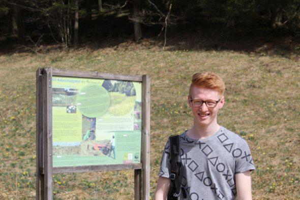 Simon Heck ist mit 17 Jahren das jüngste Natagora-Mitglied (Bild: Michaela Brück/BRF)