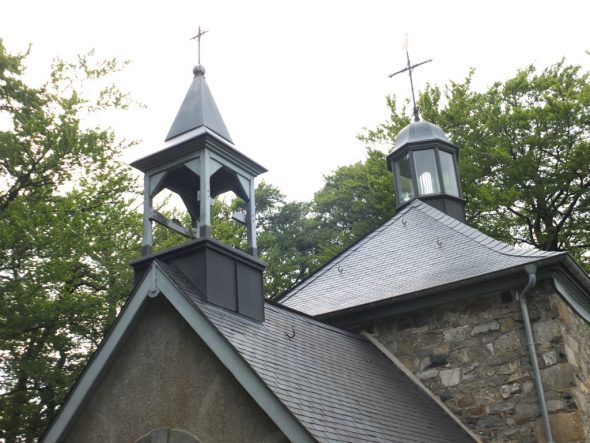 Die Glocke der Fischbachkapelle ist verschwunden (Bild: Stephan Pesch/BRF)