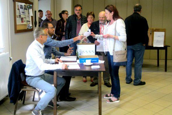 Rechter stimmen über Windpark ab (Bild: Lena Orban/BRF)