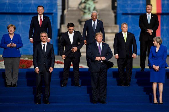 Nato-Gipfel in Brüssel (Bild: Brendan Smialowski/AFP)