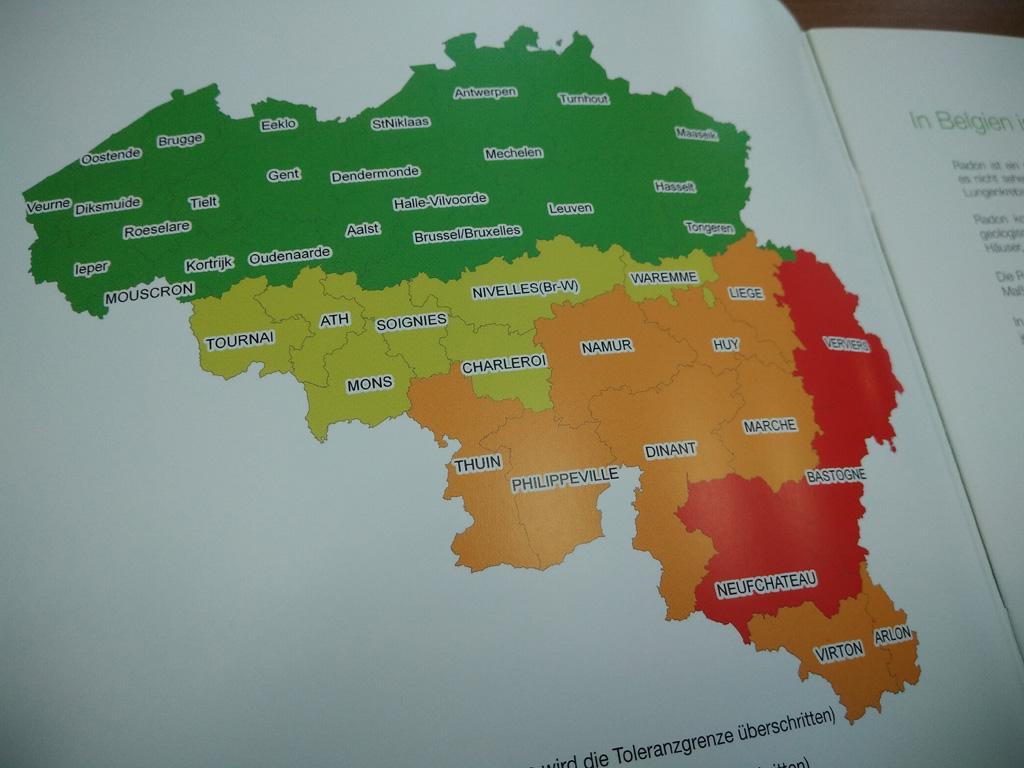 Radon Karte Deutschland.Radon Aktion 2018 Infos Auch In Deutscher Sprache