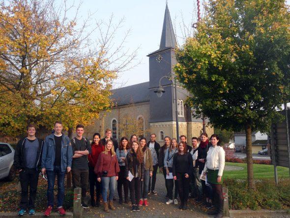 Architekturstudenten der RWTH Aachen (Bild: WFG Ostbelgien)