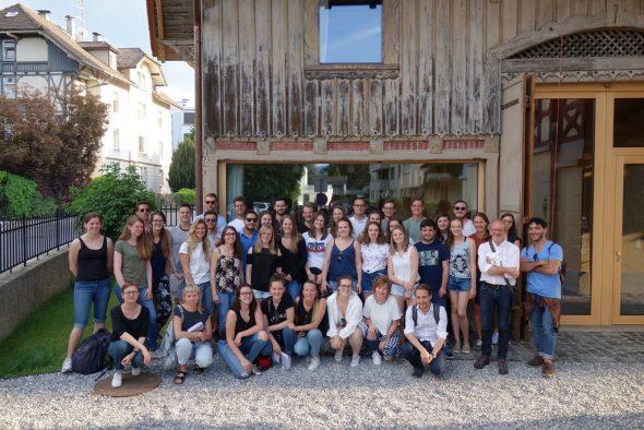 Architekturstudenten der Uni Lüttich (Bild: WFG Ostbelgien)