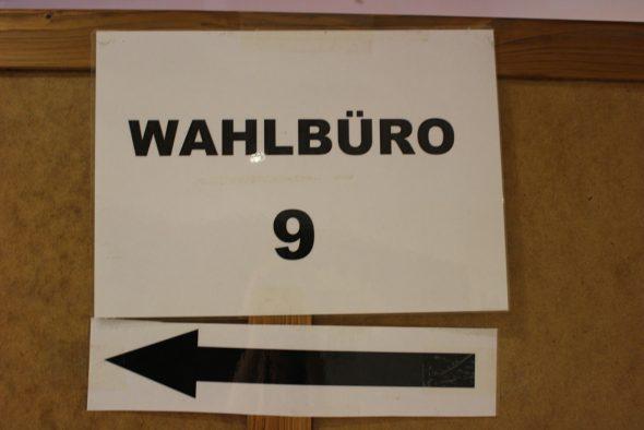 Wahlbüros 7-8-9 im Eupen (Bild: Katrin Margraff/BRF)