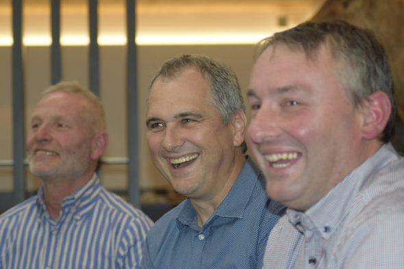Gerd Neuens, Marcel Thomé und Erik Wiesemes (Bild: Stephan Pesch/BRF)