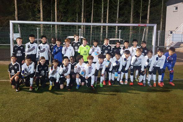 Nachwuchs aus Korea zu Gast bei der AS Eupen (Bild: Christophe Ramjoie/BRF)