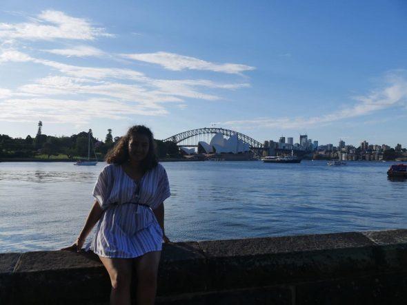 Lyna Keutgen in Australien (Bild: privat)