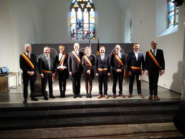 Neue Bürgermeister der DG vereidigt (Bild: Manuel Zimmermann/BRF)