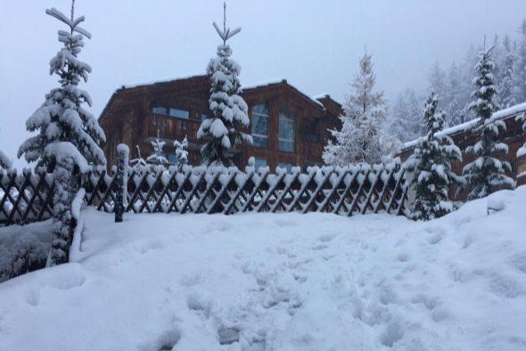 Schnee satt in Zermatt (Bild: privat)