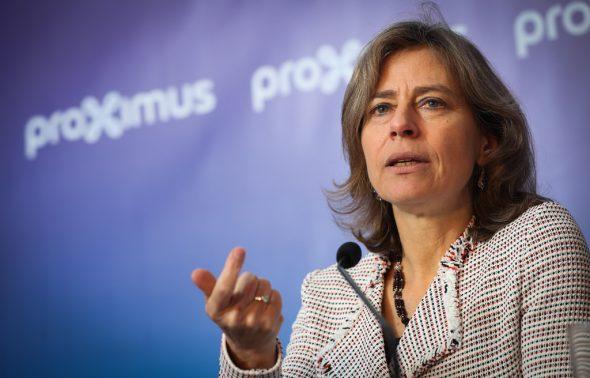 Dominique Leroy (Archivbild: Virginie Lefour/Belga)