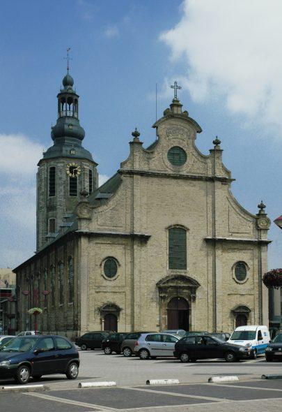 Die Sint-Ludgeruskerk in Zele