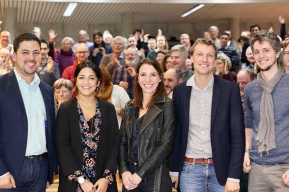 Die Ecolo-Spitzenkandidaten für die Regionalwahl (Bild: Ecolo)