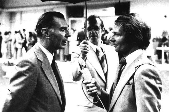 Außenminister Leo Tindemans und Albert Schoenauen in 1976 (Archivbild: Belga)