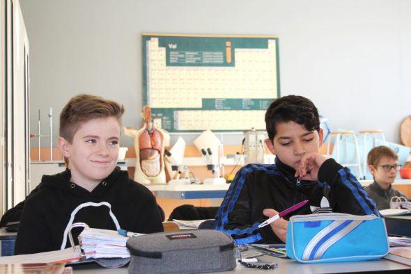 Reine Jungenklasse auf der BS - bald Vergangenheit (Bild: Michaela Brück/BRF)