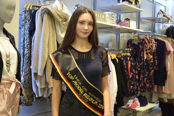 Elizaveta Nazarenko - Siegerin bei Top Model Belgium (Bild: Raffaela Schaus/BRF)