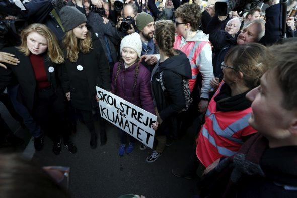 Greta Thunberg in Brüssel (Bild: Nicolas Maeterlinck/ Belga)