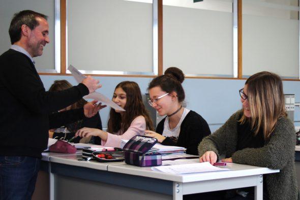 Reine Mädchenklasse auf der MG - bald Vergangenheit (Bild: Michaela Brück/BRF)