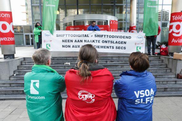 Generalstreik in Belgien (13.2.)