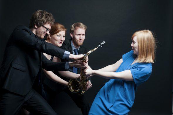 A'Meuse Saxophone kommen zum Eupen Musik Marathon (Bild: Sophie Delfosse)