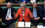 Theresa May vor dem britischen Parlament
