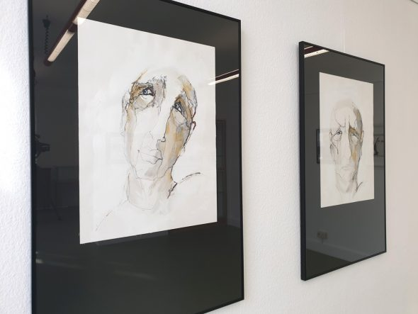 Ausstellung von Claudine Mertens im ZVS (Bild: Lena Orban/BRF)